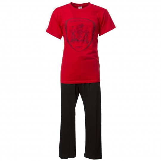 Boxed Red Mens Pyjamas