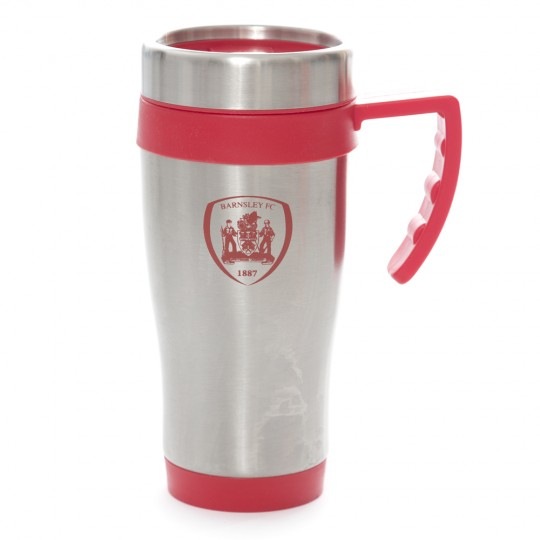 Silver Take Away Travel Mug