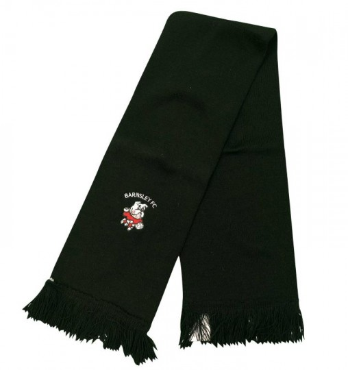 Black Childrens Scarf