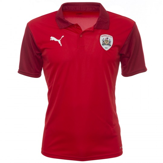 Puma Adult Red Poly Polo 2020