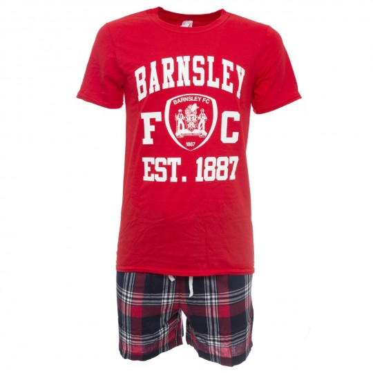 Boxed Red / Check Adult Pyjamas