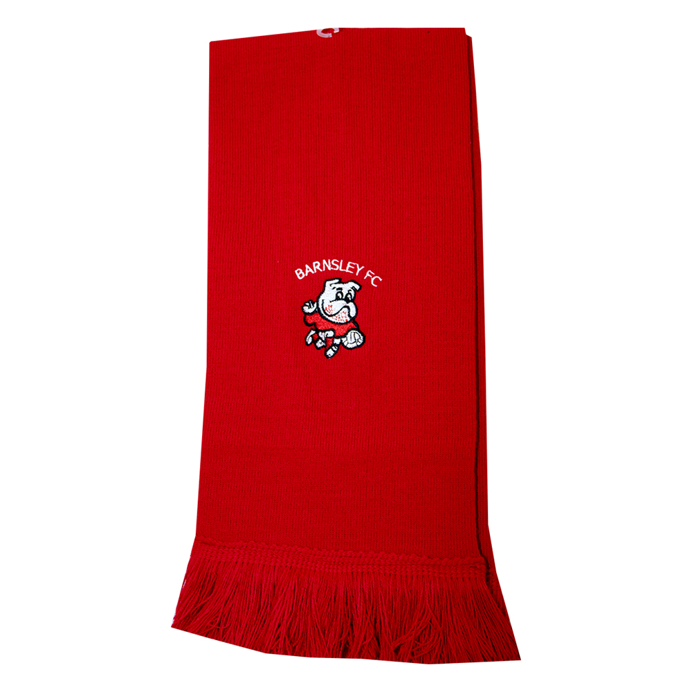 Red Childrens Scarf
