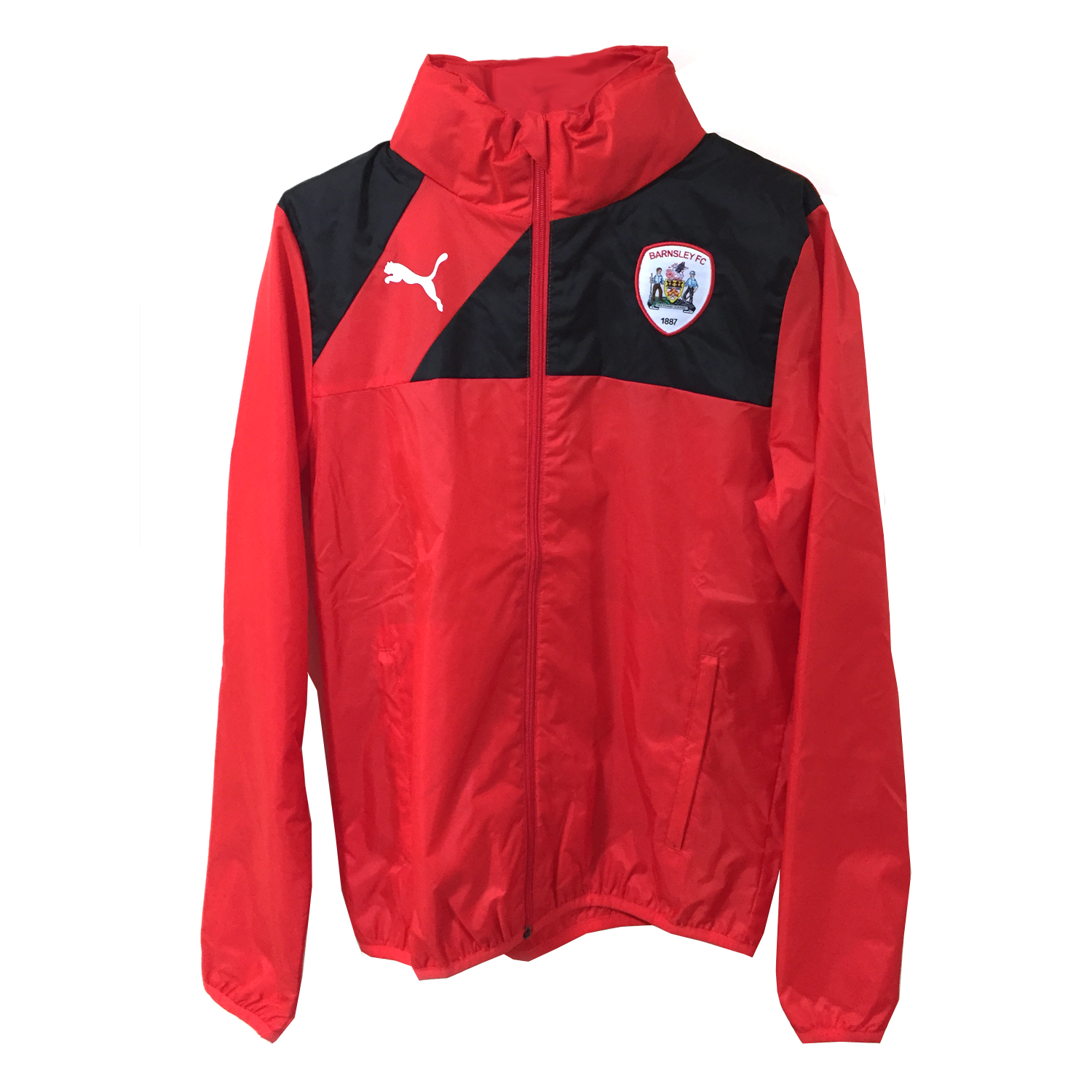 Puma Adult Red Rain Jacket