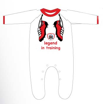 Legend in training Baby Grow