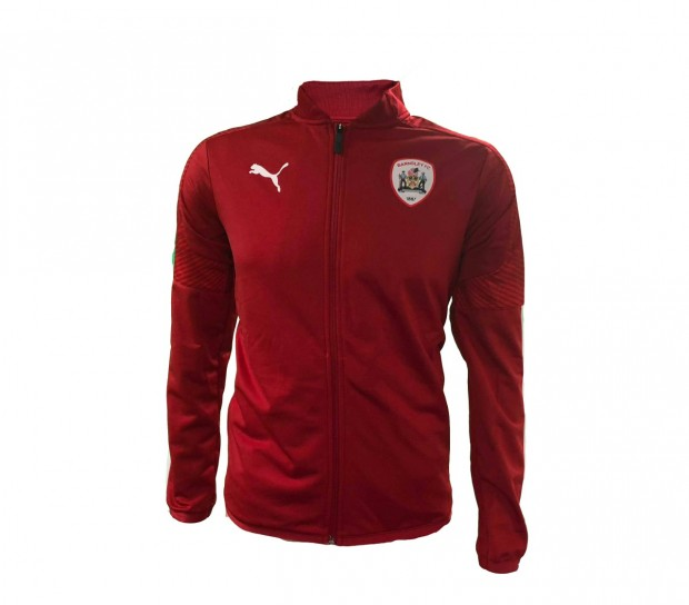 Puma Red Kids Stadium Jacket 2019