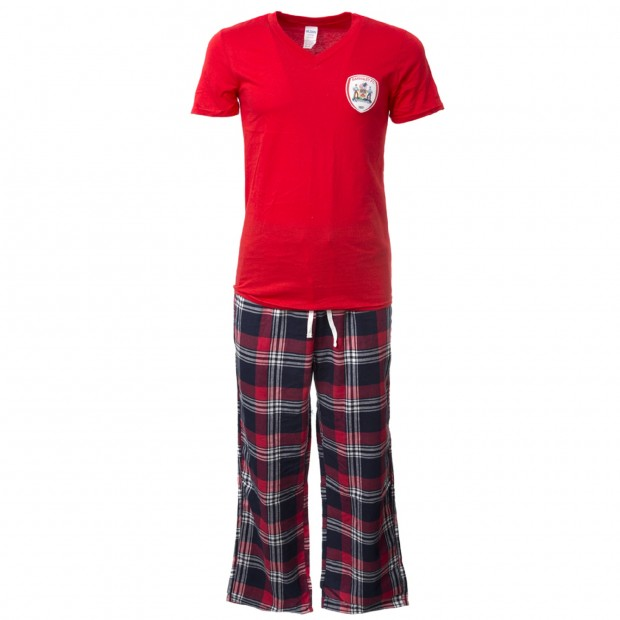 Boxed Red / Check Mens Pyjamas