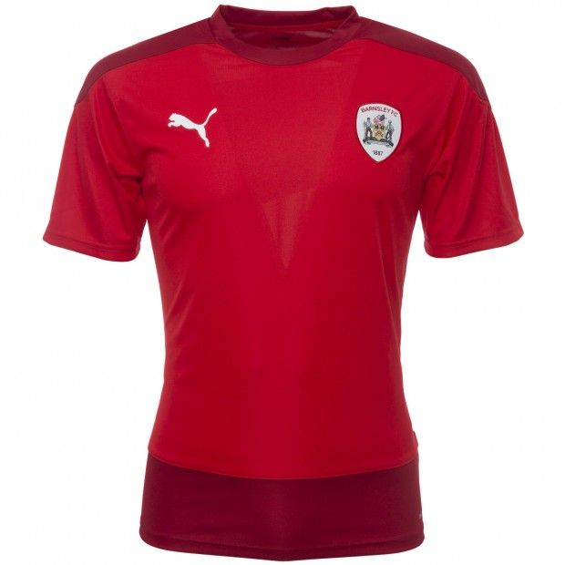 Puma Junior Red 2020-21 Training T-Shirt
