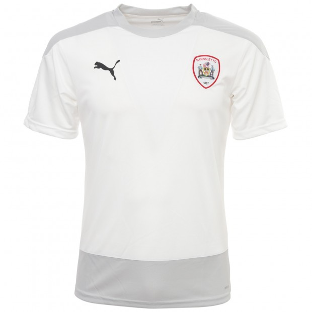 Puma Junior White 2020-21 Training T-Shirt