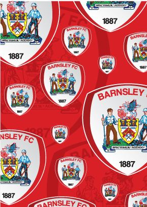 Barnsley FC Wrapping Paper