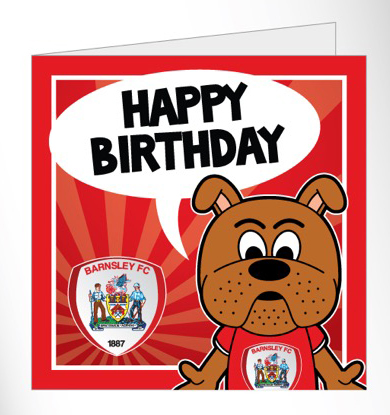 Toby Tyke Birthday Card